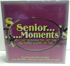Senior Moments Board Game Brand New Factory Sealed - $19.59