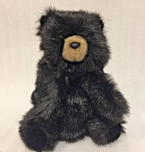 BABY Black BEAR Folkmanis Plush Toy Hand PUPPET 9 Inches - $11.79