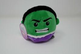 Hallmark Fluffballs Marvel Avengers Hulk Plush Ornament w/Tags - $9.49