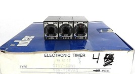 BOX OF 3 NEW IDEC GT5Y-4SN3 ELECTRIC TIMERS GT5Y4SN3
