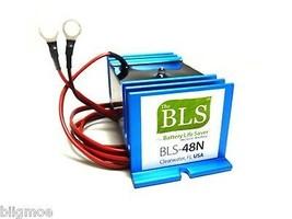 BLS-48N Battery Desulfator/Rejuvenator 48V Elektrisch Golf Carts EzGo Cl... - $142.02