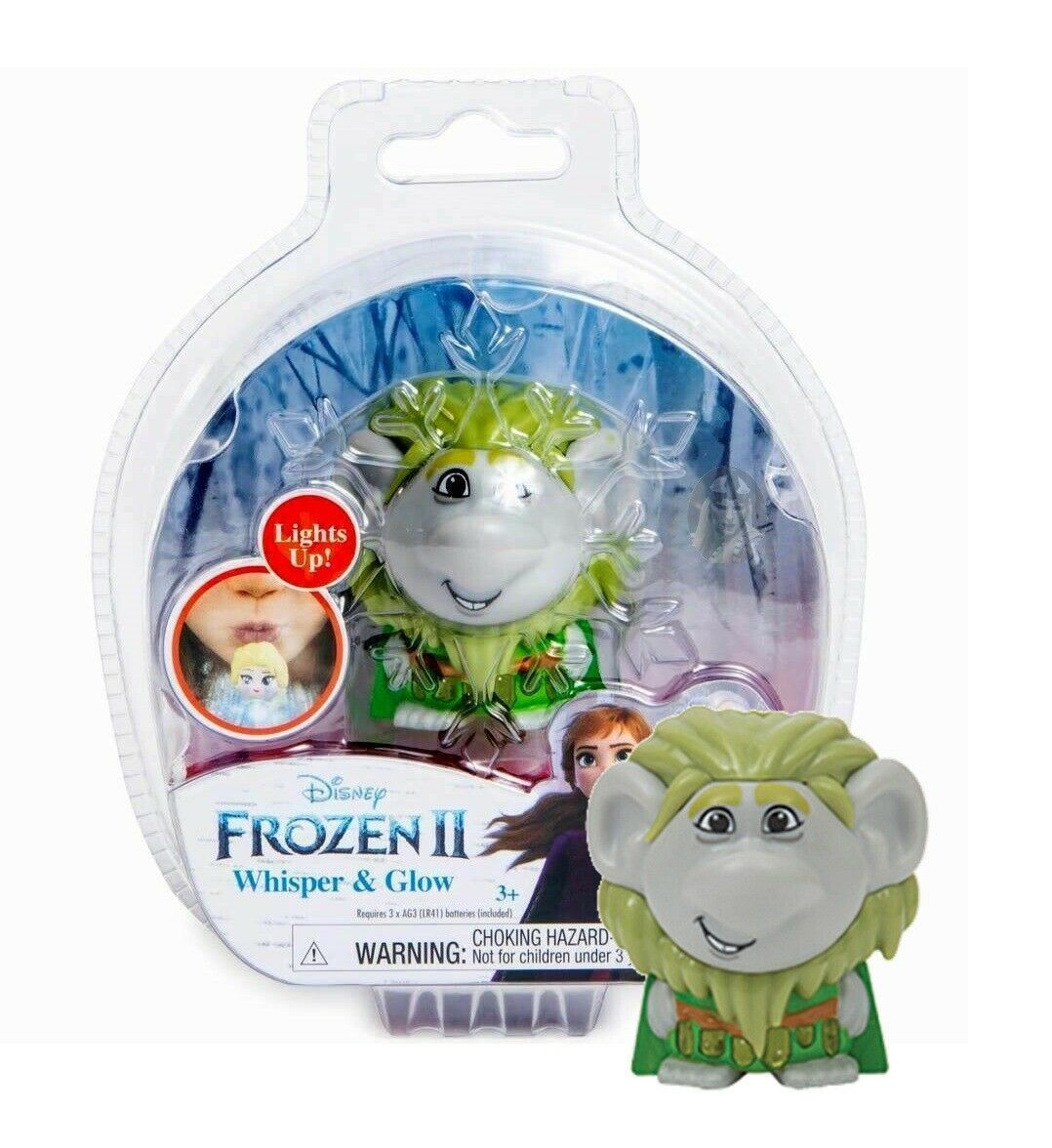 Disney Frozen II Whisper & Glow Figure Bulda Troll New in Package - $12.88
