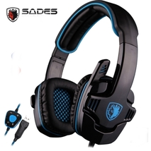 SADES SA901 Over Ear USB Wired 7.1 Surround Noise Cancelling PC Gaming H... - $36.99