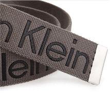 New Calvin Klein Men's Premium CK Logo Cotton Adjustable 38mm Canvas Belt 73545 image 14