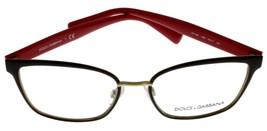 Dolce & Gabbana Eyeglasses Frame Women Brown Cat Eye DG1282 1290 - $147.51