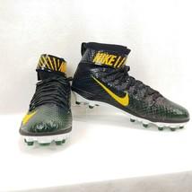 Nike Force LunarBeast Elite TD Football Cleat 847588-012 Green/Black Men's sz 14 - $49.49