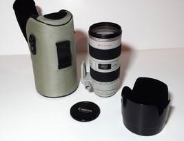 Canon 70-200mm F/2.8 L IS USM EF Mount Lens - $1,172.58