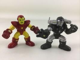 Playskool Heroes Marvel Super Hero Adventures Iron Man War Machine Figure Hasbro - $17.77