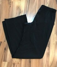 Armani Women's Black Dress Pants Slacks Italy Silk Blend Sz 4  - $79.19
