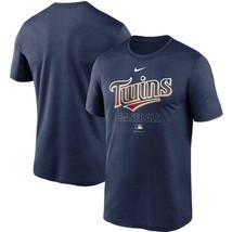 Nike Men's Blue Dri-Fit Minnesota Twins AC Legend MLB T-Shirt MSRP $35 L... - $24.16