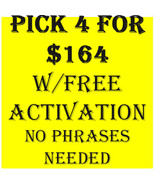 SUN FLASH SALE  PICK ANY 4 FOR $164 & FREE ACTIVATION DEAL BEST OFFERS M... - $0.00