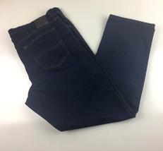 Mens Lee Jeans  Regular Fit Blue Jeans Denim W 42 L 32 EUC - $14.99
