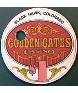 $1 Casino Chip, Golden Gates, Black Hawk, CO. M88. - $4.29