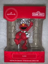 Hallmark Sesame Street Elmo Christmas Tree Holiday Ornament New - $15.00