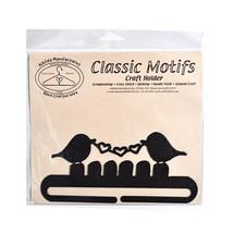 Clásico Detalles Amor Pájaro 15.2cm Carbón Separados Inferior Manualidades - $11.30