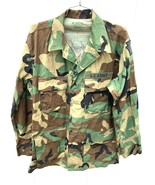 US ARMY MEN'S CAMO DS L/S COAT M LONG 8415-01-390-8549 NATO 8090/9404 + Hat - $62.79