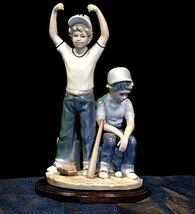 "Vintage ""Home Run"" The Paul Sebastian Collection - Figurine 1989 AA19-1396 image 5"