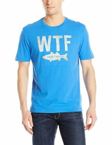 Small Life is Good Men's WTF Where's The Fish? Smooth Tee T-Shirt Short Sleeve