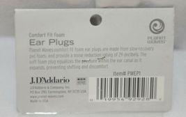 J DAdedario Planet Waves PWEP1 Comfort Fit Foam Ear Plugs Two Packages image 3