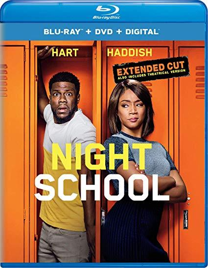 Night School [Blu-ray+DVD+Digital, 2018]