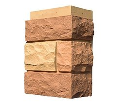 NextStone Random Rock Outside Corner Tri Sedona Red - $94.69