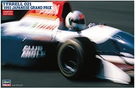 Hasegawa 1/24 Tyrrell 021 1993 Japan Grand Prix Model Car 20393 - $61.00