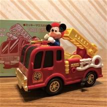VINTAGE 1988 MICKEY MOUSE MASUDAYA WINDUP FIRE ENGINE (JAPAN) - $39.60