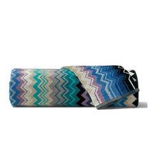 Missoni Home Giacomo 170 Towel - Blue Green Cotton Velour - £20.49 GBP+
