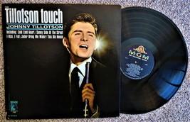 record 33 LP Johnny  Tillotson The Tillotson Touch MGM E-4224.I ship USA... - $5.93
