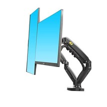 NB North Bayou Dual Monitor Desk Mount Stand Full Motion Swivel Computer Monitor