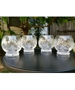 Cut Crystal Roly Poly Footed Old Fashioned Whiskey Tumbler Juice Glass S... - $94.95