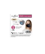 Adjustable Cotton Face Mask Triple Layer Reusable Washable WHITE COLOR - $8.99
