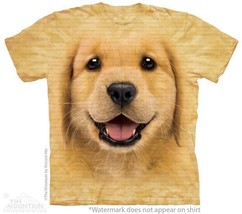 GOLDEN RETRIEVER PUPPY ADULT T-SHIRT THE MOUNTAIN - ₹1,318.03 INR+
