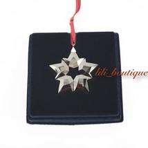 NIB New Swarovski 5524180 Little Star Small Ornament 2019 Christmas Holiday Red - $41.95