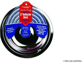 Stanco Steel Reflector Bowl 8 In. W Model: 5076-8 - $7.56