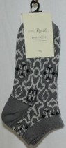 Simply Noelle Dark Grayes Light Gray Ankle Socks One Size Fits Most image 1