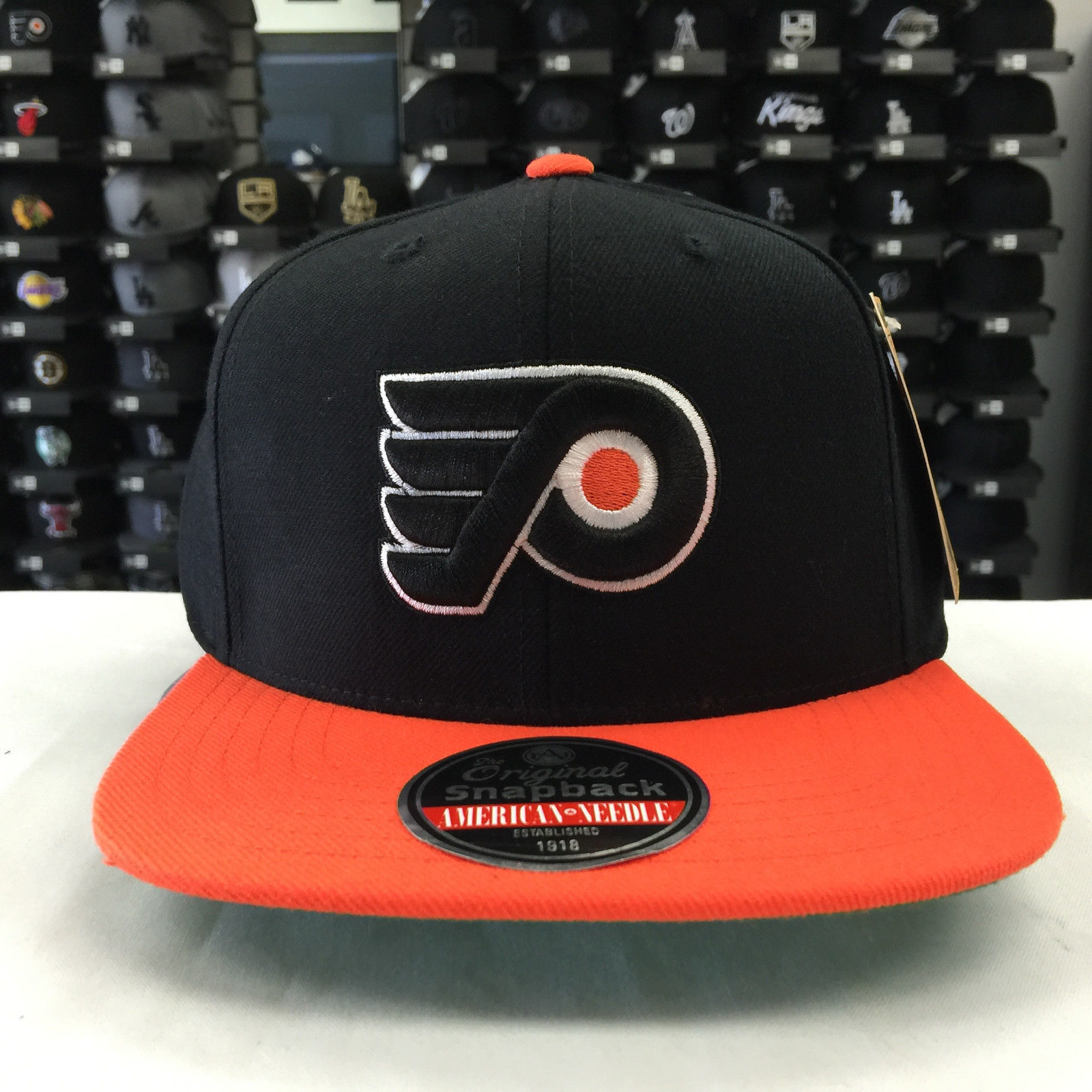 American Needle NHL 400 Philadelphia Flyers Snapback Cap Hat 12560
