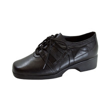 24 Hour Comfort Carmel Wide Width Leather Lace-Up Shoes - $49.95