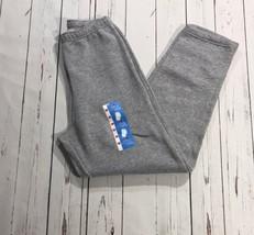Kids  Fruit Of Loom Grey Sweat Pants Size M - $14.03
