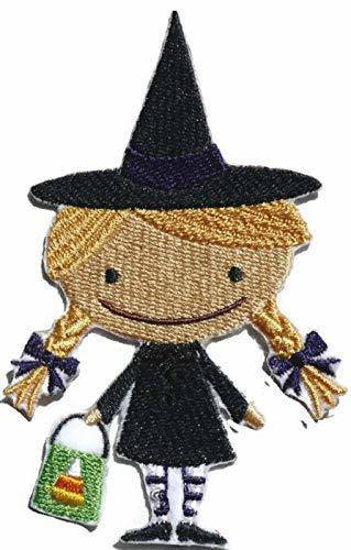 BeyondVision Custom and Unique Happy Halloween [Boo Crew Witch ] Embroidered Iro