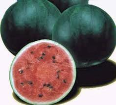 Watermelon Seeds, Sugar Baby, Heirloom, Organic, 100 Seeds, Non Gmo, Watermelons - $6.19