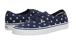 Vans New York Yankees MLB Authentic Sneaker Limited Edition Shoes Navy B... - $45.50