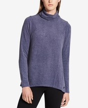 Calvin Klein Performance Mock-Neck High-Low Top, Size S, MSRP $59 - $31.08