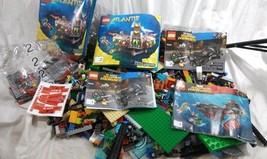 LEGO 9lbs Bulk Lot Of Mixed Loose Colored Pieces Bricks Parts Manuals - $79.19