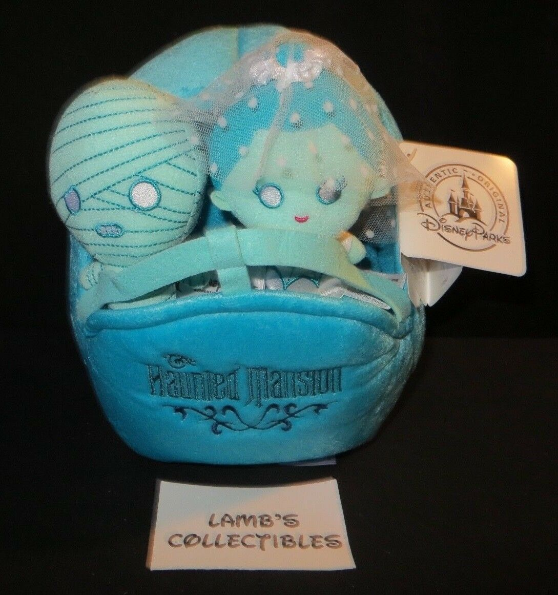 Primary image for Disney Parks Authentic Haunted Mansion Doom buggy plush playset