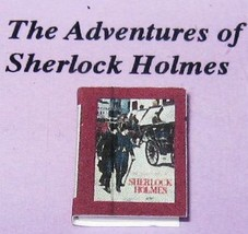 DOLLHOUSE Book The Adventures of Sherlock Holmes Jacqueline's B6040A Min... - $2.61