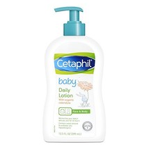 Cetaphil Baby Daily Lotion with Organic Calendula, Sweet Almond Oil and ... - $10.16