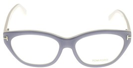 Tom Ford Fashion Eyeglasses Frame Women Grey White TF 5270 020 Oval - $167.31