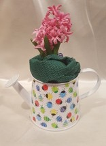 Metal Watering Can or Planter with Multi Colored Lady Bugs 5 Inches Tall... - $5.44