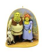 EUC 2005 Hallmark Keepsake Ornament Shrek Princess Fiona & Donkey Collectible - $24.74